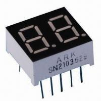 China 7 segment LED Blue Display, Digit Measures 0.36 Inch with Low Consumption wholesale
