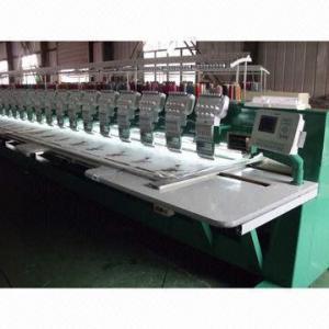 China 15-head Flat embroidery machine wholesale