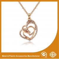China Gold Plated / Silver Plated Metal Chain Necklace Jewellery ECO Friendly wholesale