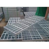 China Durable Q235 Outdoor Galvanized Steel Stair Treads High Strength Material wholesale