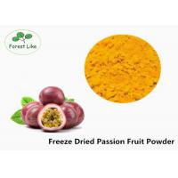 China Concentrate Pure Natural Freeze Dried Passion Fruit Powder 2 Years Shelf Life wholesale