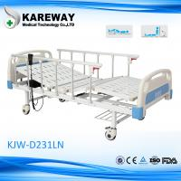Variable Height Hospital Medical Beds With Centrally Controlled Brake System