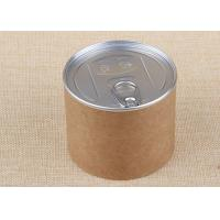 China Kraft Paper Composite Cardboard Tube Containers Label Printing Nuts Packaging wholesale