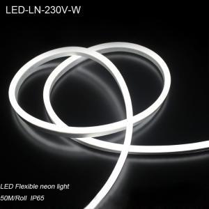 Quality IP44 230V Waterproof flexible LED Neon strip lights/ LED strip Light for for sale