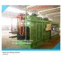 ISO TUV certificated quality Hydraulic tyre tire baling press machine