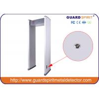 Water Proof 6 Detecting Areas Metal Detector Gate Safety 6 Zone