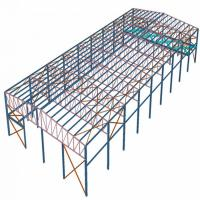 Buy cheap Galvanized Surface Treatment Prefabricated Steel Structures Hear - Preservation from wholesalers