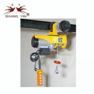 China PA1000A Mini Electric Hoist , Overhead Electric Hoist  220V/230V Yellow Color wholesale