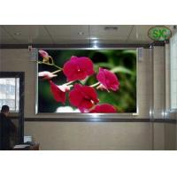 China HD railway / school indoor advertising led display board Steel or aluminum Cabinet wholesale