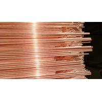 China Bundy Tube Double Wall Good Corrosion Resistance Copper Coated  For Refrigerator Part 3.18  mm  *  0.7  mm wholesale
