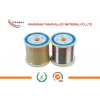 China Monel400 Copper Nickel Alloy Wire/ Strip Good Corrosion Resistance wholesale
