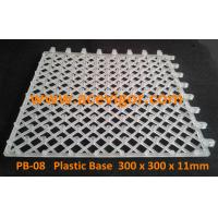 China PB-08 White Plastic Base for WPC deck tiles wholesale