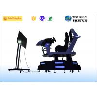 China High Definition 9D Cinema Simulator , Car Racing Games Simulator For Game Center on sale