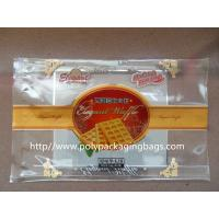 China Customized Food Packaging Clear Plastic Ziplock Bags for Cookies / Dry Fish wholesale
