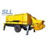 Buy cheap Diesel Engine Compact Concrete Pump , Construction Concrete Pump Color Chargeable from wholesalers
