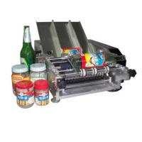 China Plastic Bottle Labeling Machine , Semi Auto Pneumatic Sticker Applicator Machine wholesale