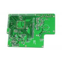 China Lightweight 94v0 PCB Board Green Mask Rogers 5880 0.254mm 0.2mm Hole Size wholesale