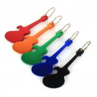 China Unique Metal Personalized Bottle Opener Keychain With Laser Engraved Logo wholesale