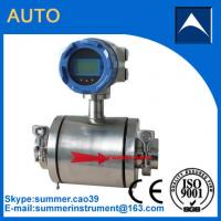 China China cheap Clamp Type Digital Magnetic Flow Meter for Water Treatment wholesale