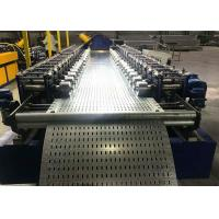 China Perforated Cable Tray Making Machine With Adjustable Cantilever Mill Stands on sale