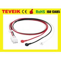 China M1673A ECG 3 lead wires , Snap , AHA for patient monitor wholesale