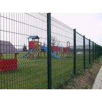 China Powder Coating Bilateral Metal Mesh Fencing Low Cost For Bridge / Construction wholesale