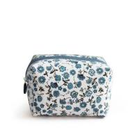 China Promotional Printed Floral Canvas Cosmetic Bags / Canvas Makeup Bags wholesale