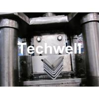 China Steel Angle / L Profile Cold Roll Forming Machine With Manual Decoiler for G.I. Steel Coil wholesale