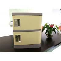 Quality Gray ABS Cell Phone Charging Locker With Electronic Lock Safe and Convenient for sale