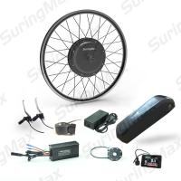 Buy cheap DC 48V Electric Mountain Bike Kit Front / Rear Gearless Motor Conversion Kit from wholesalers