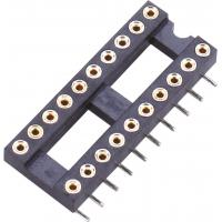 China IC Socket SMT Round Pin Header H=3.0 L=7.43 Row of Pitch 15.24 Product spacing wholesale