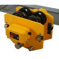 China 0.5t 1t 2t 3t 5t Electric Chain Hoist / Crane Trolley , High Speed Chain Hoist Yellow Color on sale