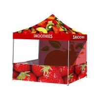 China Vivid Image Promotional Pop Up Tent  , Ez Up Canopy 10x10 Popular No Loose Parts on sale