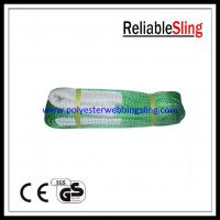High Strength Eye - eye Flat Webbing Sling for crane lifting 1-100 meters