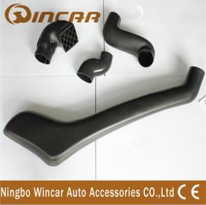 China UV resistance Nissan Navara D40 Diesel Snorkel 4x4 Left Side In Black Color wholesale