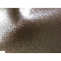 China 1.2mm - 1.4mm Embossed Textured Leather Fabric With Euro And US standards wholesale