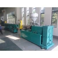 China Double Screw PVC Pipe Extrusion Line , Plastic Water Pipe Making Machine wholesale