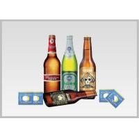 Beer Label Vacuum Metallized Paper Laminate Sheets Chemical Type , Width 200mm for sale