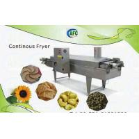 Buy cheap Peanut Continuous Frying Machine from wholesalers
