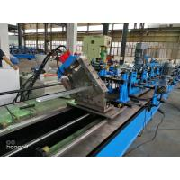 China 60m/min CU  C Z Purlin Roll Forming Machine for Gear Box driving fly cutting wholesale