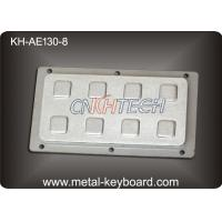 China IP65 8 Keys Industrial Rear Panel Mount Number Keypads Stainless Steel wholesale