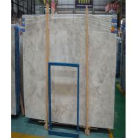 China Indoor Exquisite Marble Stone Slab , Honed White Carrara Marble on sale