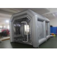 China Eco - Friendly Small Mobile Inflatable Spray Booth Easy To Install CE UL EN14960 wholesale