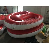 Quality Screen Printing Inflatable Water Toy , 4m Diameter 2 Seats PVC Inflatable Boat for sale