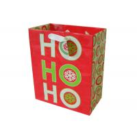 China fashionable gift Colored Paper Bags With Handles , Matte lamination on sale