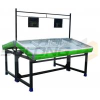 China Plastic Metal Material Fruit Vegetable Display Rack Corrosion Protection wholesale