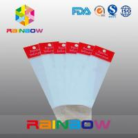 China Red OPP Header Bag , Printed Cellophane Bags , Flat Plastic Bags wholesale