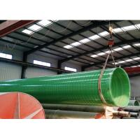 China FRP/GRP Fiberglass PIPE DN1200 DN2400 DN4000 water treatment pipes wholesale