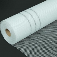 China Corlorful sticky and soft fiberglass net used for construction material on the EPS wholesale