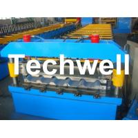 Quality Metal Trapezoidal Roof Panel Roll Forming Machine for Making Trapezoidal Roof for sale